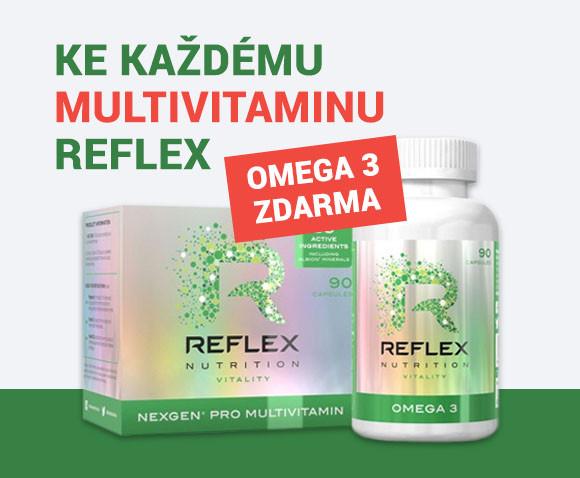 Reflex Nutrition Nexgen Pro (90 kapslí) + Omega 3 (90 kapslí)