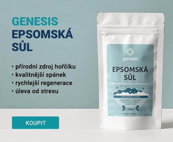 Genesis Epsomská sůl (1000 g)